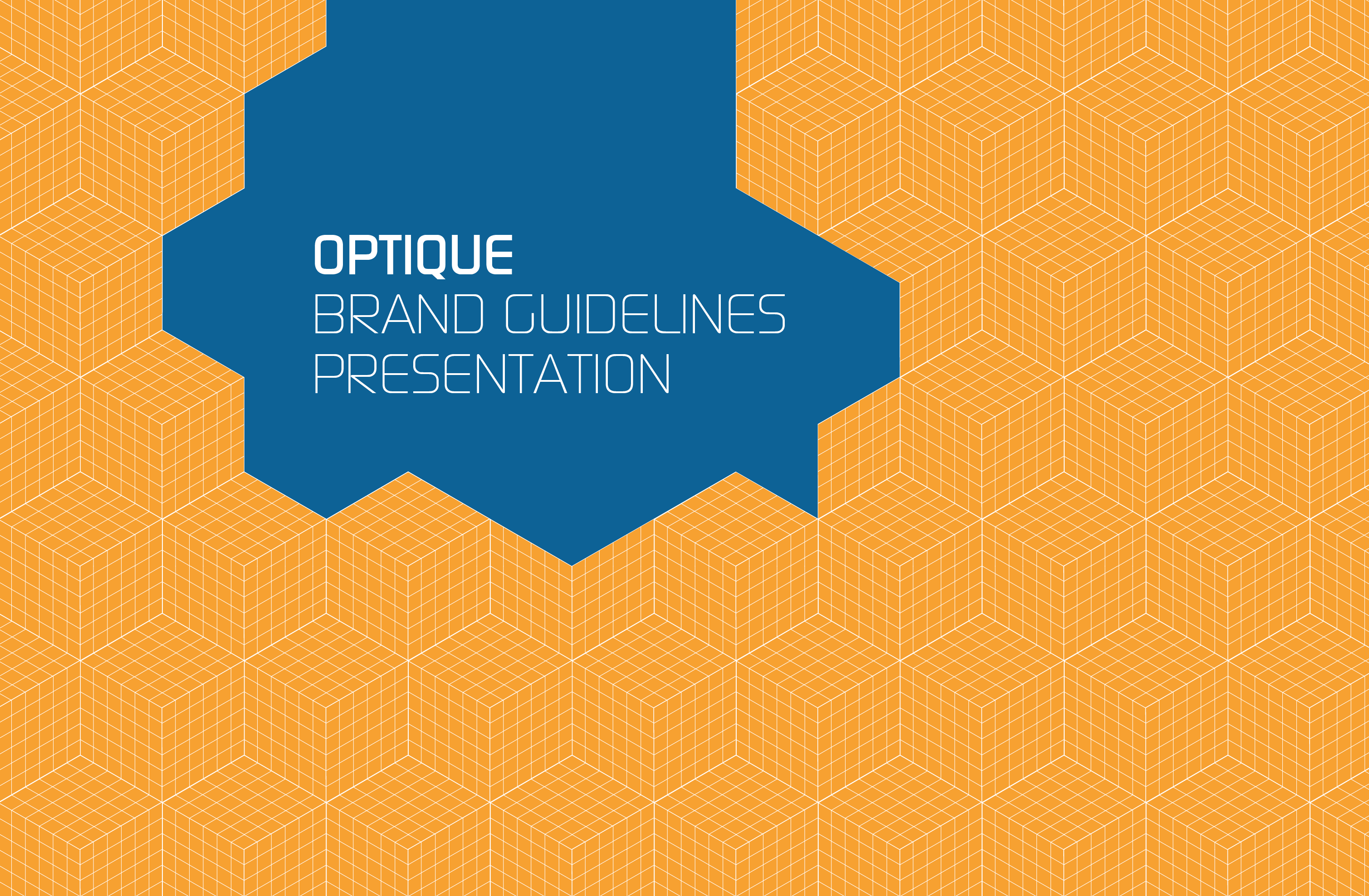 Brand manual cover
